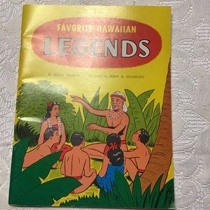 Favorite Hawaiian Legends Peggy Hickok Illustrated